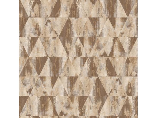 Rusty Triangles Grunge Wallpaper