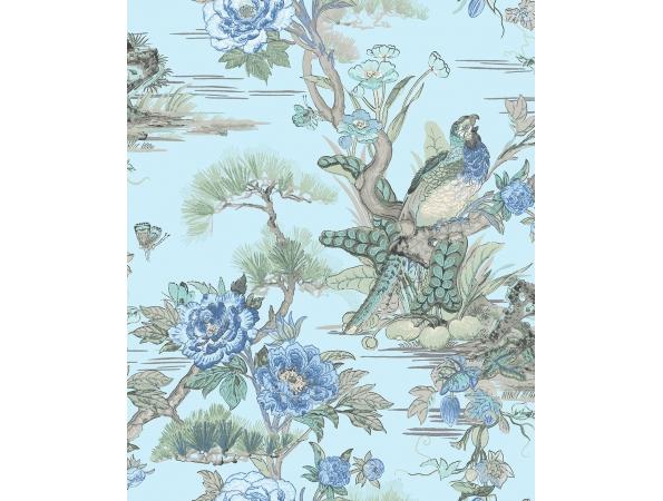 Bird Trail Sumi Wallpaper