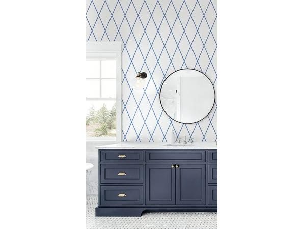 Diamond Paper & Ink Wallpaper Room Setting