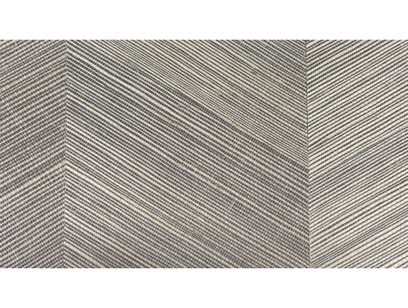 Chevron Grasscloth Paper & Ink Wallpaper