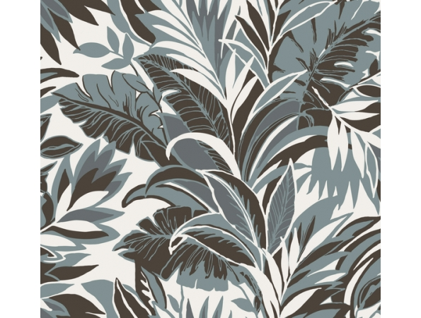 Palm Silhouette Conservatory Wallpaper