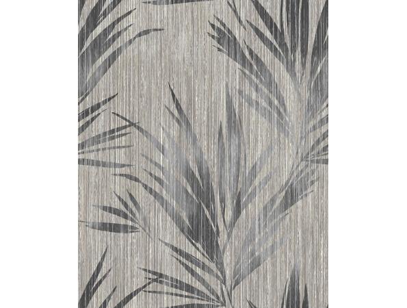 Palm Leaf Stripe Maya Wallpaper