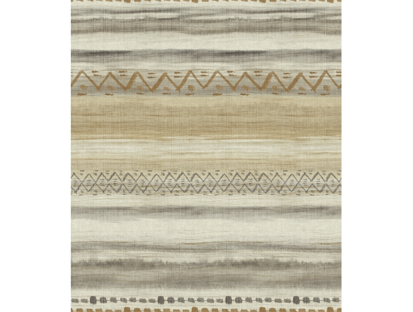 Ethnic Weave Stripe Maya Wallpaper