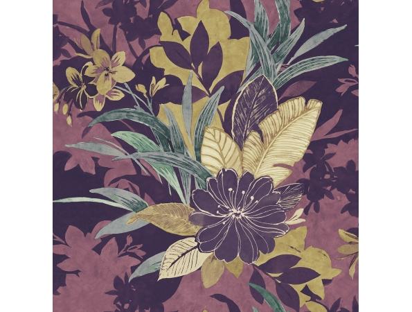 Tropical Foliage Maya Wallpaper