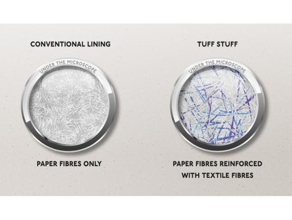 TUFF 55 Single Lining Paper Fibres Image