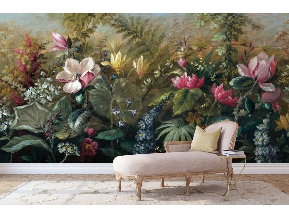 Garden Paradise Charleston Mural