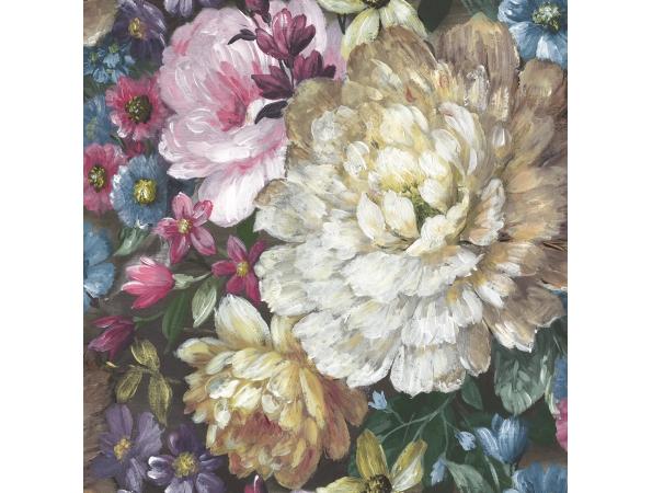 Florabunda Charleston Wallpaper